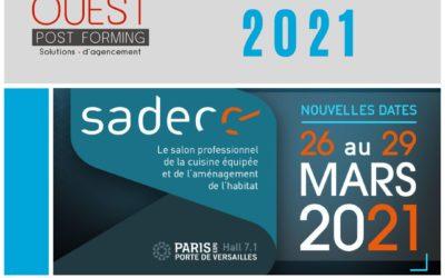OUEST POST FORMING sera présent au SADECC 2021 !